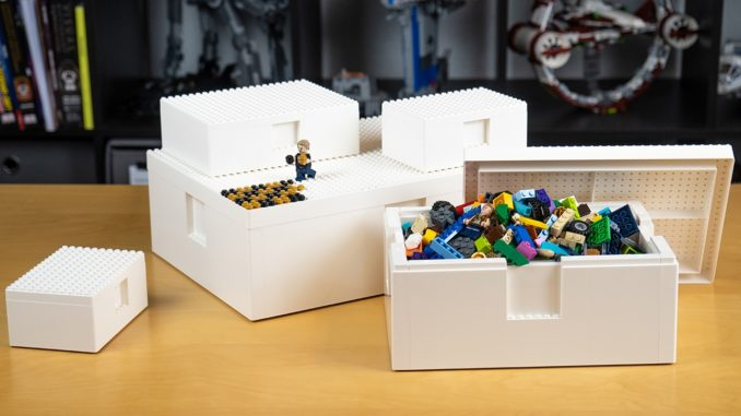 LEGO x IKEA BYGGLEK boxes review